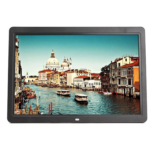 15.6 Inch Full HD Digital Photo Frame Picture LED RC