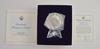 (2) Official 1977 Inaugural Medal Silver w/ COA & Box 401 Grams Total