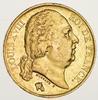 1824 France Gold 20 Francs - Circulated