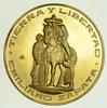(1961-63) Mexico Gold Emiliano Zapata Medal - Circulated