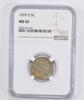 MS65 1929-S Buffalo Indian Nickel - NGC Graded