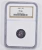 PF66 1882 Seated Liberty Dime - NGC Graded