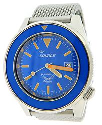 Squale 60 Atmos Blue Puro Automatic Watch