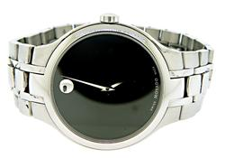 Movado Retro Classic Stainlees Steel Watch
