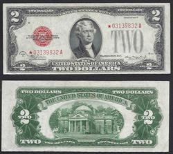 $2 1928-D Star Legal Tender