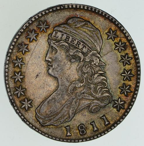 1811 Capped Bust Half Dollar - Circulated