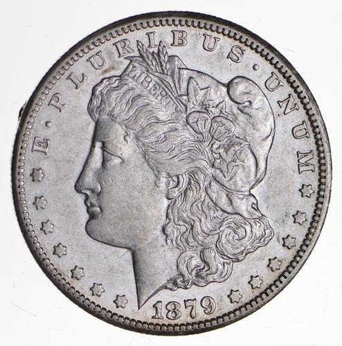 1879-CC Morgan Silver Dollar - Near Uncirculated