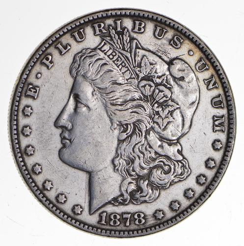 1878 Morgan Silver Dollar - 7TF VAM 146 - Sharp