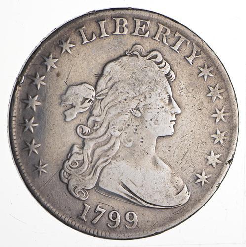 1799 Draped Bust Dollar - Circulated