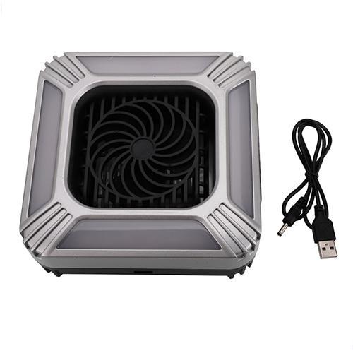 Multi-function Portable Fan LED Table Lamp Flashlight