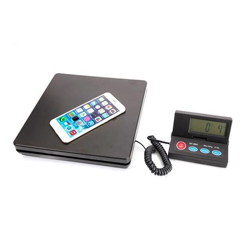 50KG/2G Portable Plastic Electronic Scale Black
