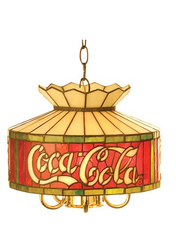 Lovely Coca-Cola Chandelier