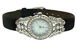 Butterfly CZ Quartz Watch