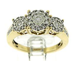 Lovely .75ctw Diamond Ring