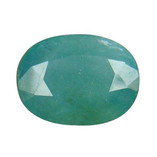Exotic and rare 2.46ct blue green Grandidierite