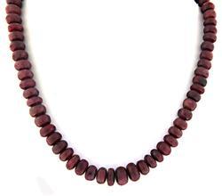 Amazing Ruby Bead Necklace