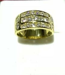 1.5 CT Diamond 18kt Solid Ring