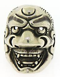 Demon Sterling Silver Ring