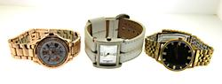 Group of 3 Fashion Watches
