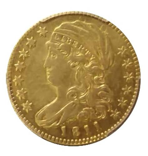 1811 Small 5- $5.00 Early US Liberty Head Gold
