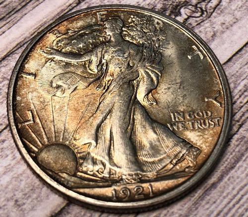 Rare 1921-D Walking Liberty
