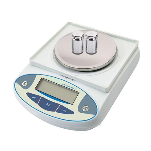 3000g / 0.01g Portable Electronic Balance Scale White