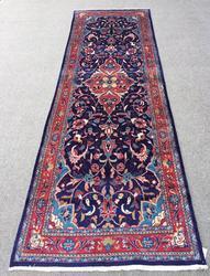Lovely Mid Century Authentic Hand Woven Vintage Persian Tafshanjian