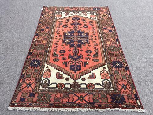 Enchanting Rare 1960s Authentic Handmade Vintage Persian Gorg-Heydari