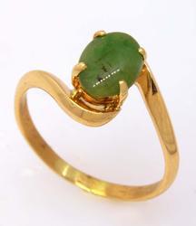 Lovely Jadeite Ring, Size 7.5