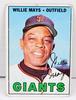 1967 Willie Mays, Giants Baseball Card