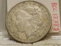 1921-S Morgan Dollar near Unc