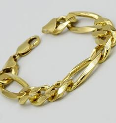 Unisex 14kt Solid Yellow Gold Bracelet, 66+ Grams!