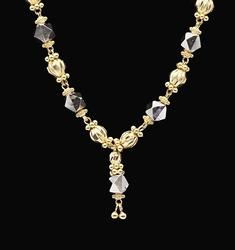 22kt Solid Yellow Gold Pendant Necklace