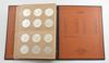 Complete Set of Silver Peace Dollars - Dansco Coin Book