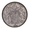 1866 Shield Nickel - Rays - Choice