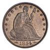 1854-O Seated Liberty Half Dollar - Choice