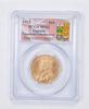 MS63 1913 $10.00 Canada Gold Ten Dollars - Gold Reserve - Graded PCGS