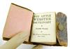 Antique Leather Little Webster Dictionary