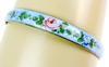 Vintage Sterling Guilloche Bangle Bracelet