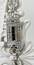 Vintage Platinum and Diamond Bracelet