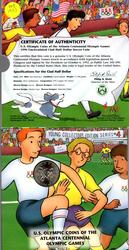 Young Collectors 1996 Olympic Soccer Commem Half Dollar