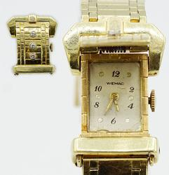 Vintage 14kt Yellow Gold Wemac Watch