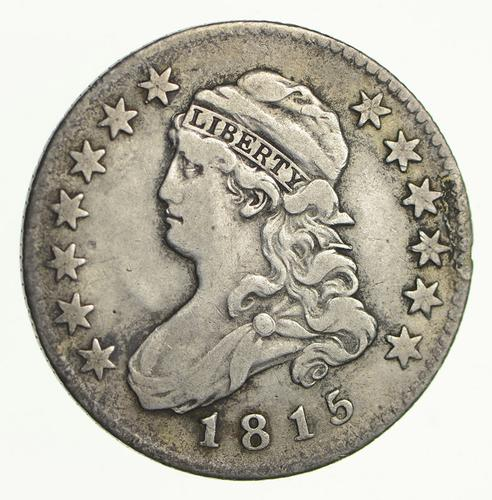 1815 Capped Bust Quarter - Circulated