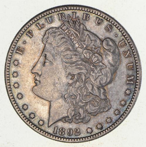 1892-S Morgan Silver Dollar