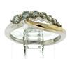 Amazing 0.33ctw Diamond Journey Ring