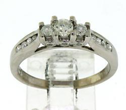 Amazing White Gold Diamond Ring