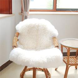 Soft Shaggy Living Room Pad Carpet Fluffy Chair Cover