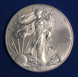 2015 BU American Silver Eagle