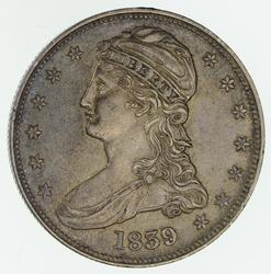 1839 Capped Bust Half Dollar - Circulated