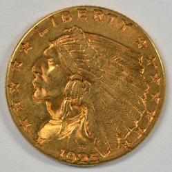 Flashy 1926 US $2.50 Indian Gold Piece